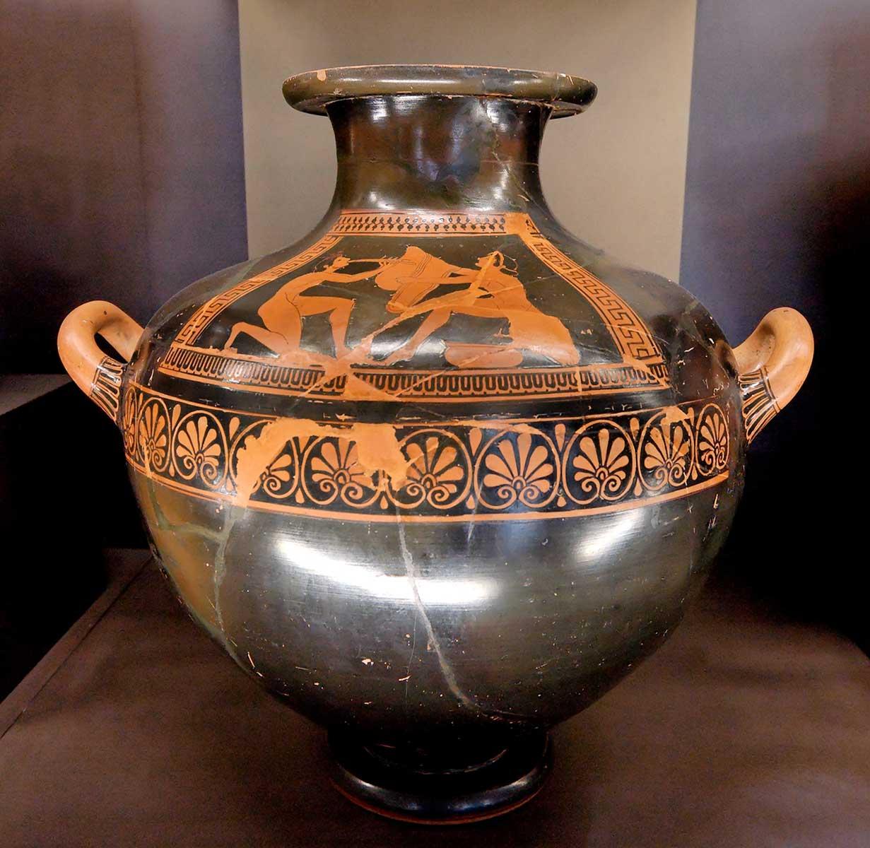 geometrischer stil vasenmalerei